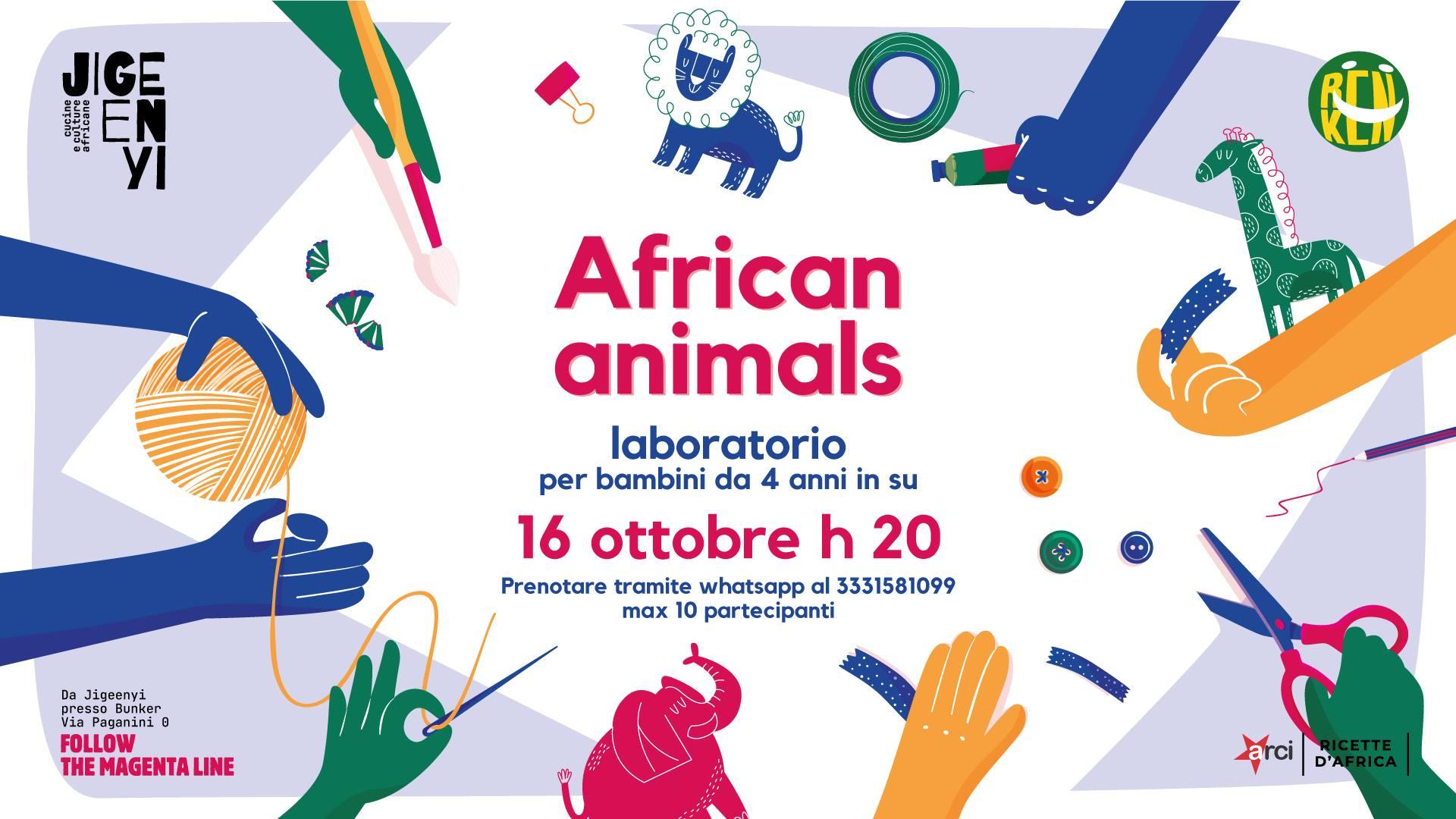 bimbi beguè african animals